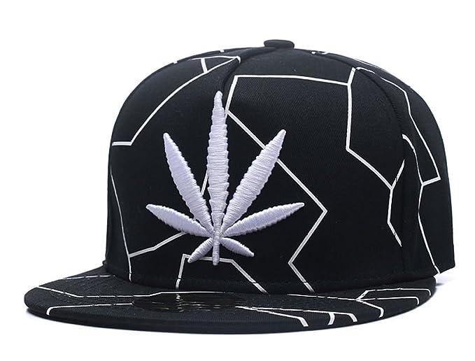9704ac1ad8f Amazon.com  CNUSER Men s Snapback Flatbrim Hat