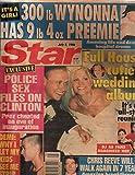 "Star 1996 Jul 9 Wynona,Demi moore,""Full House Cutie wedding Album"" Chris Reeve"