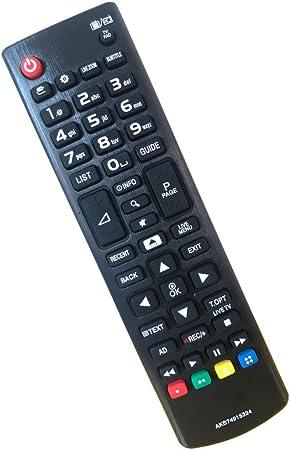 Mando a Distancia para LG TV AKB74915324 Ajuste para LG LCD LED TV y Smart TV Compatible con Todos Mando a Distancia de LG TV: Amazon.es: Electrónica
