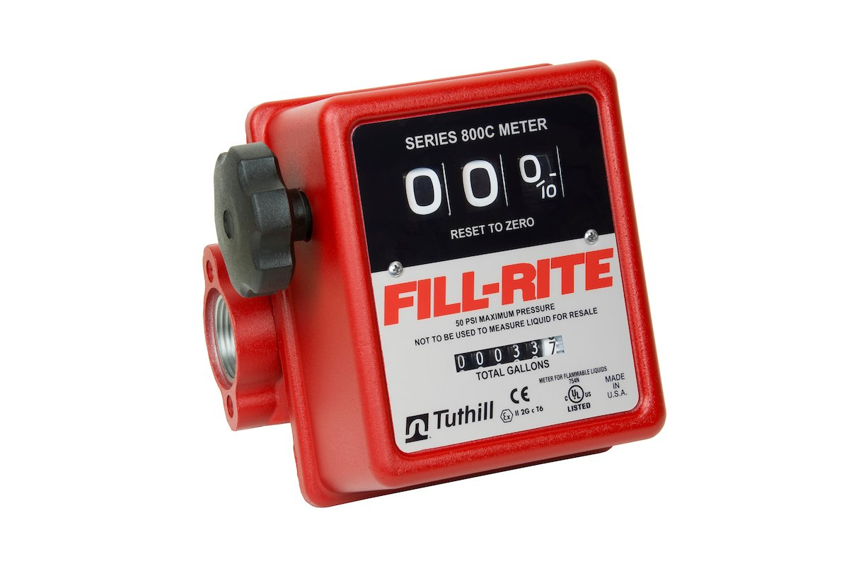 Fill-Rite 807C1 3 Wheel Mechanical Meter, 5 to 20 GPM by Fill-Rite (Image #4)