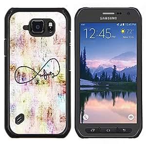 Stuss Case / Funda Carcasa protectora - Cita original del arte Autor - Samsung Galaxy S6 Active G890A