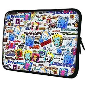 "AES - Beauty Colorful 7""/10""/13"" Laptop Sleeve Case for MacBook Air Pro/Ipad Mini/Galaxy Tab2/Sony/Google Nexus 18222 , 13"""