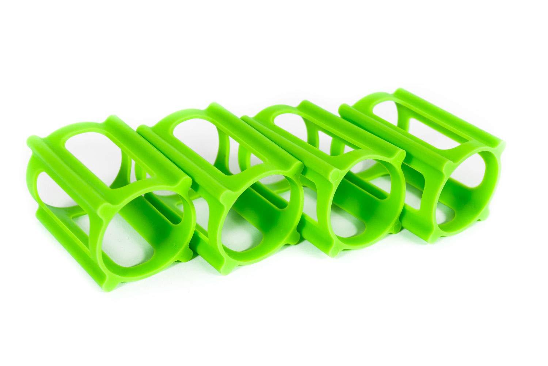 SkaterTrainer Los entrenadores oficiales de skater | Accesorios patentados para ruedas de skate Verde neón | Diseñado y
