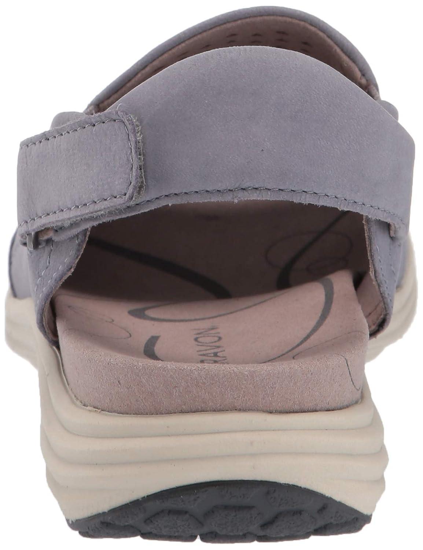 Aravon Womens Beaumont Peep Sling Wedge Sandal