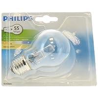 Philips Ampoule EcoHalogène Standard Culot E27 42 Watts consommés Equivalence incandescence : 55W