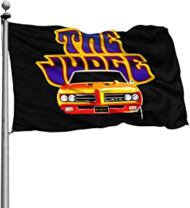 N/D Pontiac GTO Home Garden Sign Field Outdoor Indoor Decoration Banner Flag 4x6 Ft