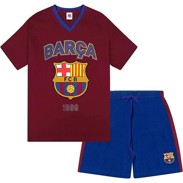 FC Barcelona - Pijama corto para hombre - Producto oficial ...