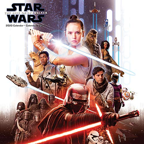 Star Wars: The Rise of Skywalker (Bilingual Spanish) 2020 Wall Calendar (English and Spanish Edition) by Trends International