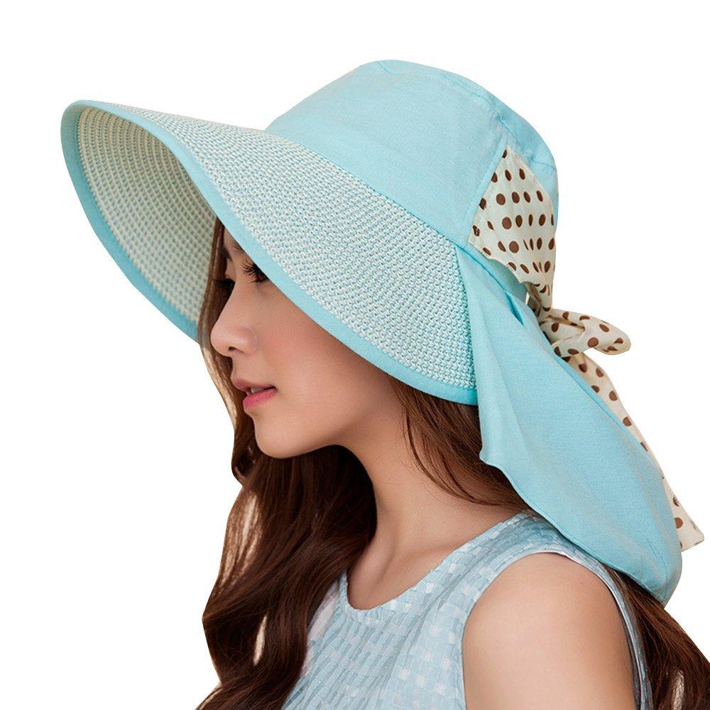 UV Sun hats women summer Sun hats - Beach Sun Visor