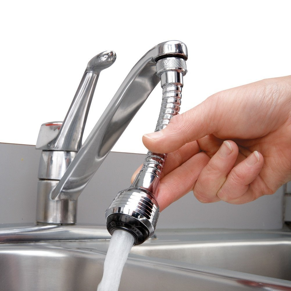 Homemax Tap Faucet Extension Flexi Hose for Basins by Homemax (Image #1)