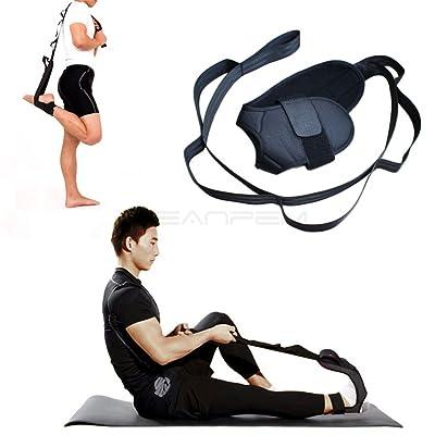 Yoga étirement Sangle, Cheville ligaments civière, bande de résistance avec de multiples Boucles de prise en main, pied de jambe stretch Assist, ceinture et la thérapie physique d'exercice pour r&e