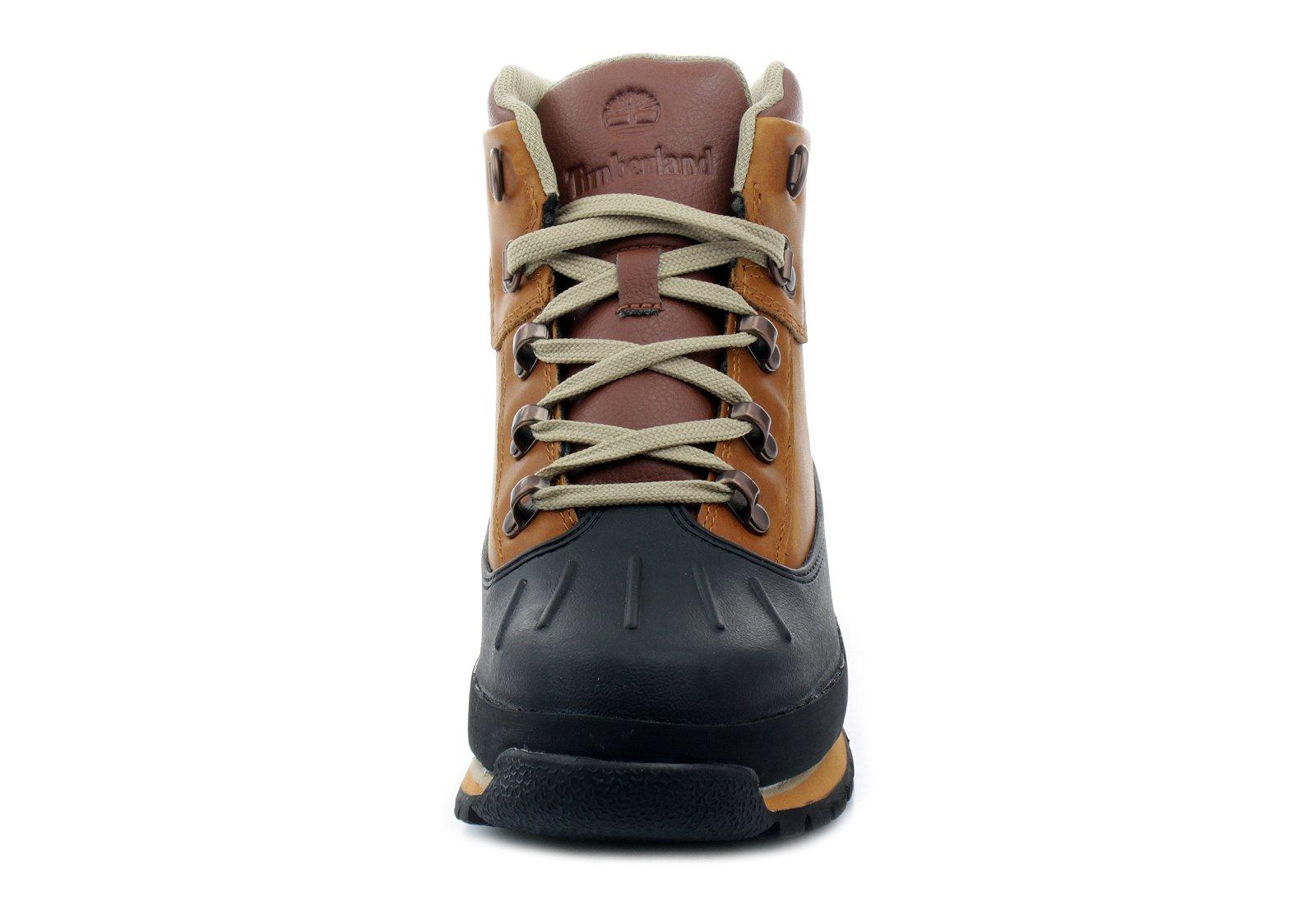 Timberland Junior Euro Shell Toe Hiking Boots Claypot 7 M