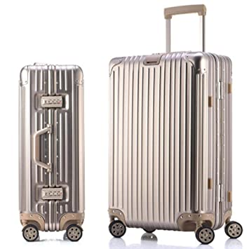 b152a8fd795a Daeou Hand luggage suitcases Trolley case Universal wheel metal ...