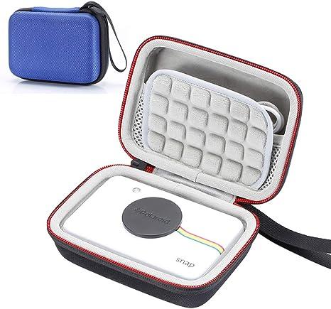 Estuche rígido para cámara Digital de impresión instantánea Polaroid Snap & Polaroid Snap Touch, Bolsa de Almacenamiento de Viaje Que Lleva: Amazon.es: Electrónica