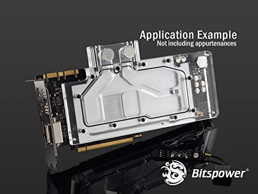 Amazon.com: Bitspower GPU Waterblock for ASUS Turbo GTX 1080, Clear Acrylic: Computers & Accessories