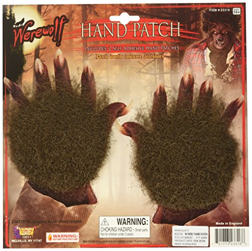 Forum Novelties 23316 Werewolf Hand (Movie Quality Werewolf Costumes)