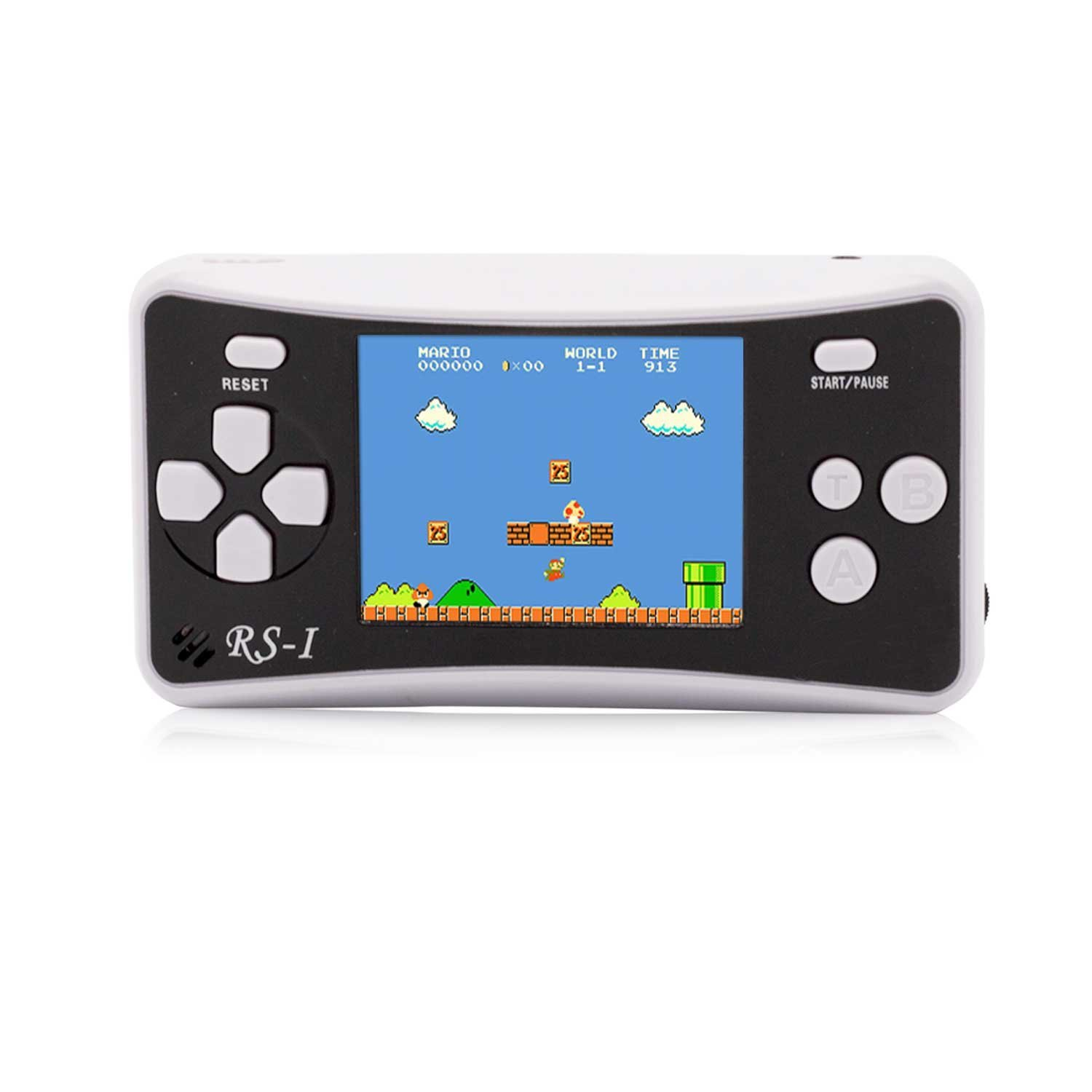 OctiveMe RS-1 Portable Video Game Player for Children|Retro Handheld Game Console|2.5'' LCD,Built-in 152 Classic Games Entertainment|Best Gift for Kids (Black)