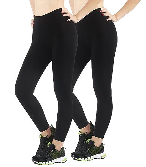 4How® Pantalon de Sport-Legging Yoga Femme-pour Fitness Jogging Vélo ... 8348b48aed2