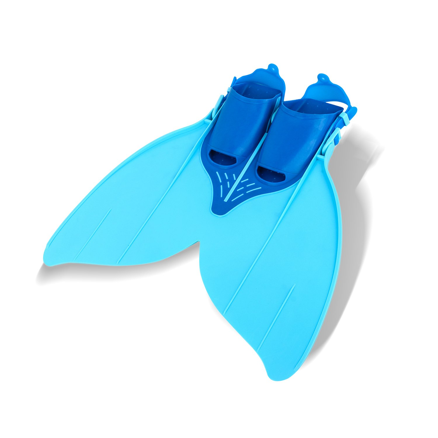 Yosoo Fishtail Monofin Mono Fin Flippers Swimming Toy Swimmable for Youth yosoo-223-pp