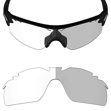 525ff01afc Mryok UV400 Replacement Lenses for Oakley Radarlock XL Vented - Eclipse  Grey Photochromic