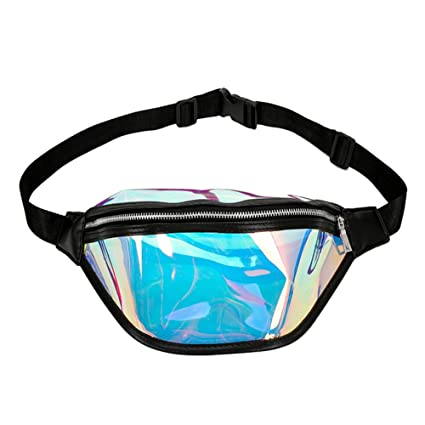 09285cb26dd4 Amazon.com: MoGist Shiny Fanny Pack - Fanny Bag Waist Pack for Women ...
