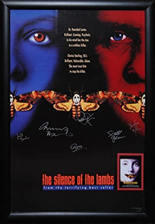 Amazoncom Silence Of The Lambs Cast Signed Movie Poster