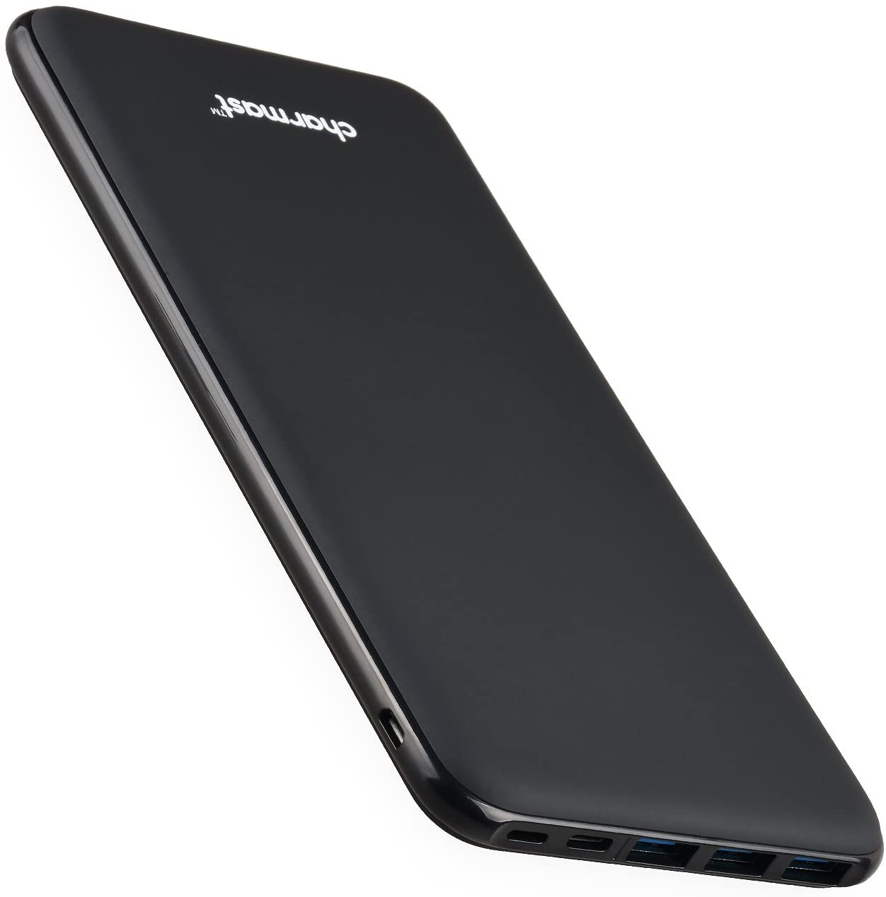 Charmast® 26800mAh Powerbank Batería Externa Delgado con 3 Entradas&4 Salidas USB/Tipo C para Nintendo Switch Nexus iPad iPhone Samsung Huawei BQ LG Android Teléfono Móvil (Negro)