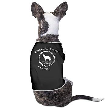 Círculo de confianza mi pastor alemán Perro Ropa Perro Jersey abrigos chaquetas: Amazon.es: Productos para mascotas