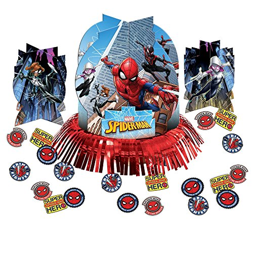 Spiderman Table Decorating Kit (Each) - Party Supplies