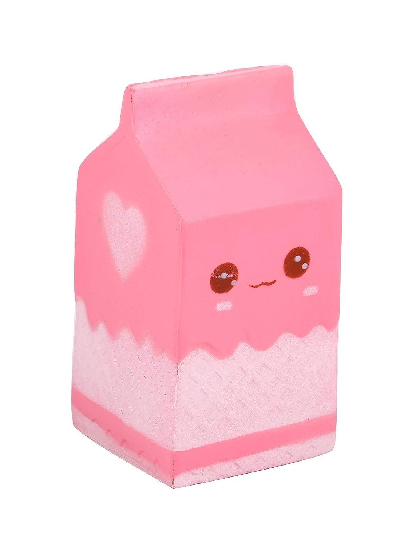 ミルクボックスおもちゃSlow Rising子供大人Relieves不安ストレスおもちゃ ホワイト 199503254  ホワイト B07G82ZQL9
