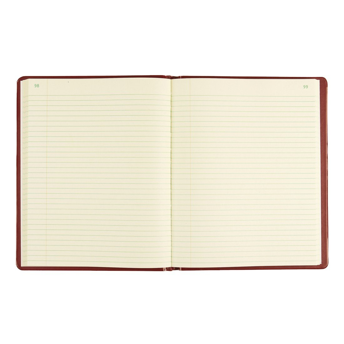 National Red Vinyl Series Record Book, 300 Pages, 7-3/4 x 10 Sheets, 8 1/4 x 10 1/2 Book (57231)