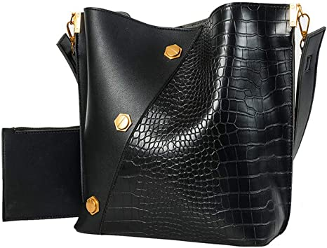 aligator sac rond bandouliere