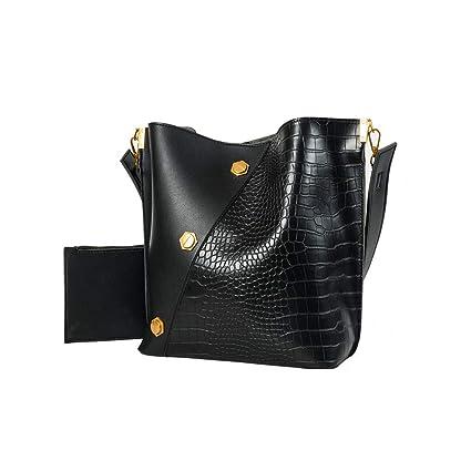 Amazon.com: LUXISDE - Bolsas de piel sintética para mujer, 2 ...