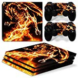 Cheap CSBC Skins Sony PS4 Pro Design Foils Faceplate Set – Dragon Design