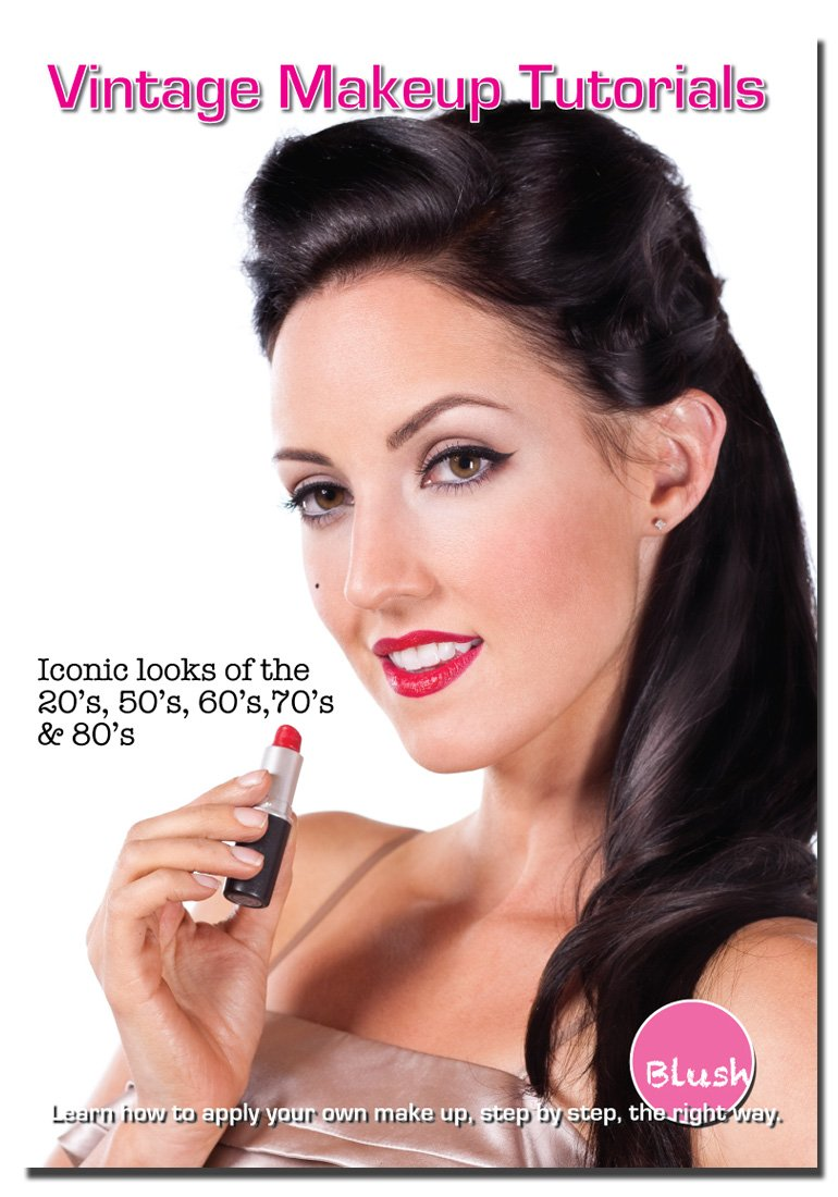 Amazon vintage makeup tutorials iconic looks of the 20s amazon vintage makeup tutorials iconic looks of the 20s 50s 60s 70s and 80s danica jardien will wernick movies tv baditri Choice Image