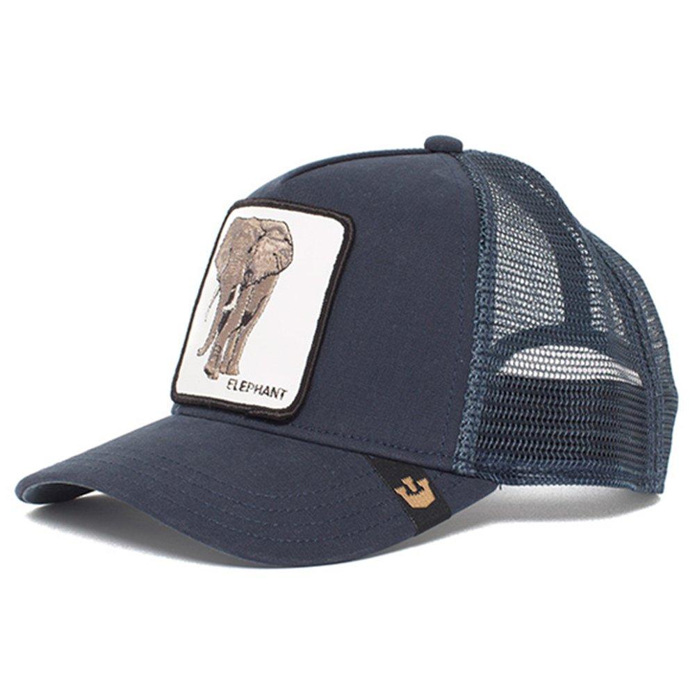 Goorin Bros.. - Cappellino da baseball - Uomo Blu elefante Taglia unica