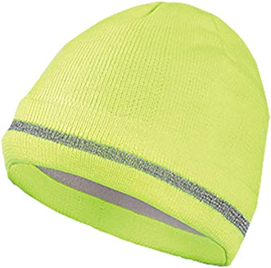 Proclimate High Vis Reflective Thermal Fleece Beanie Hat