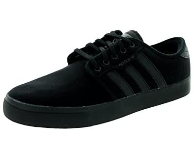 176713f62bcb adidas Skateboarding Men s Seeley Black Black Mid Cinder Athletic Shoe