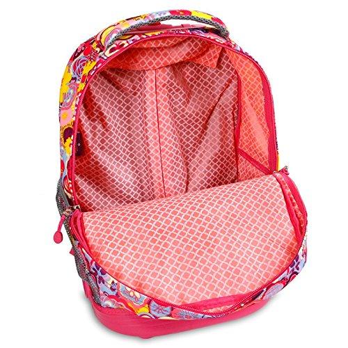 J World Sunrise Rolling Backpack Cody Lunch Bag Set