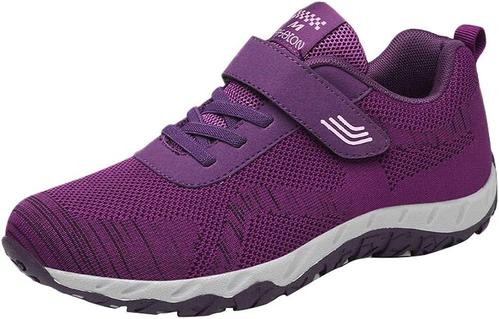 Zapatillas de Mujer Deporte Planas de Malla Transpirable Zapatos Casuales de Shoes de Malla Aire Libre para Mujer Senderismo Sneakers YiYLunneo: Amazon.es: Ropa y accesorios