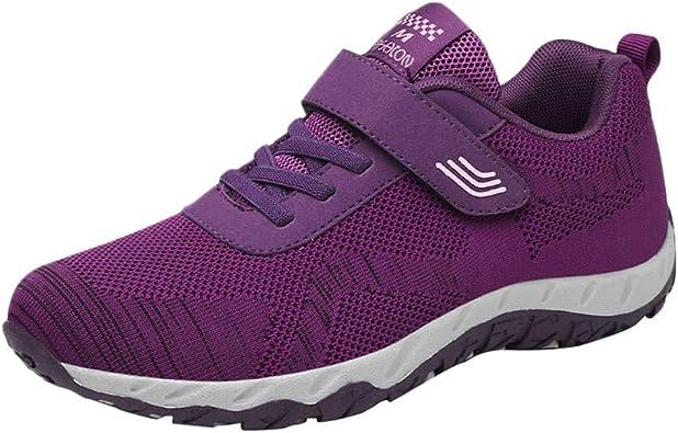 Sylar Zapatillas Deportivas Planas para Mujer Venta De Otoño Malla Transpirable Cosiendo Suela Blanda Cómodo Zapatos para Caminar Zapatos Casuales: Amazon.es: Zapatos y complementos