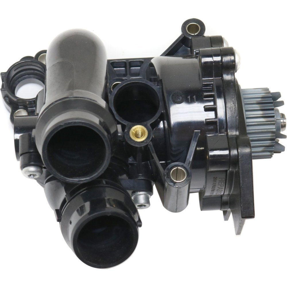 Water Pump for AUDI A3 / JETTA 08-13 / A5 QUATTRO 10-16 Assembly w/Thermostat 4 Cyl 2.0L eng. Evan-Fischer