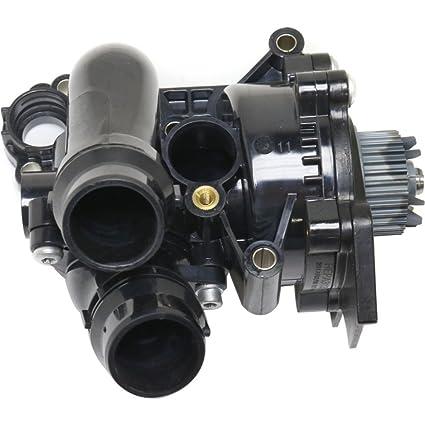 Audi VW A3 A4 Q5 Jetta GTI Water Pump Thermostat Assembly w// Sensor 06H121026BA