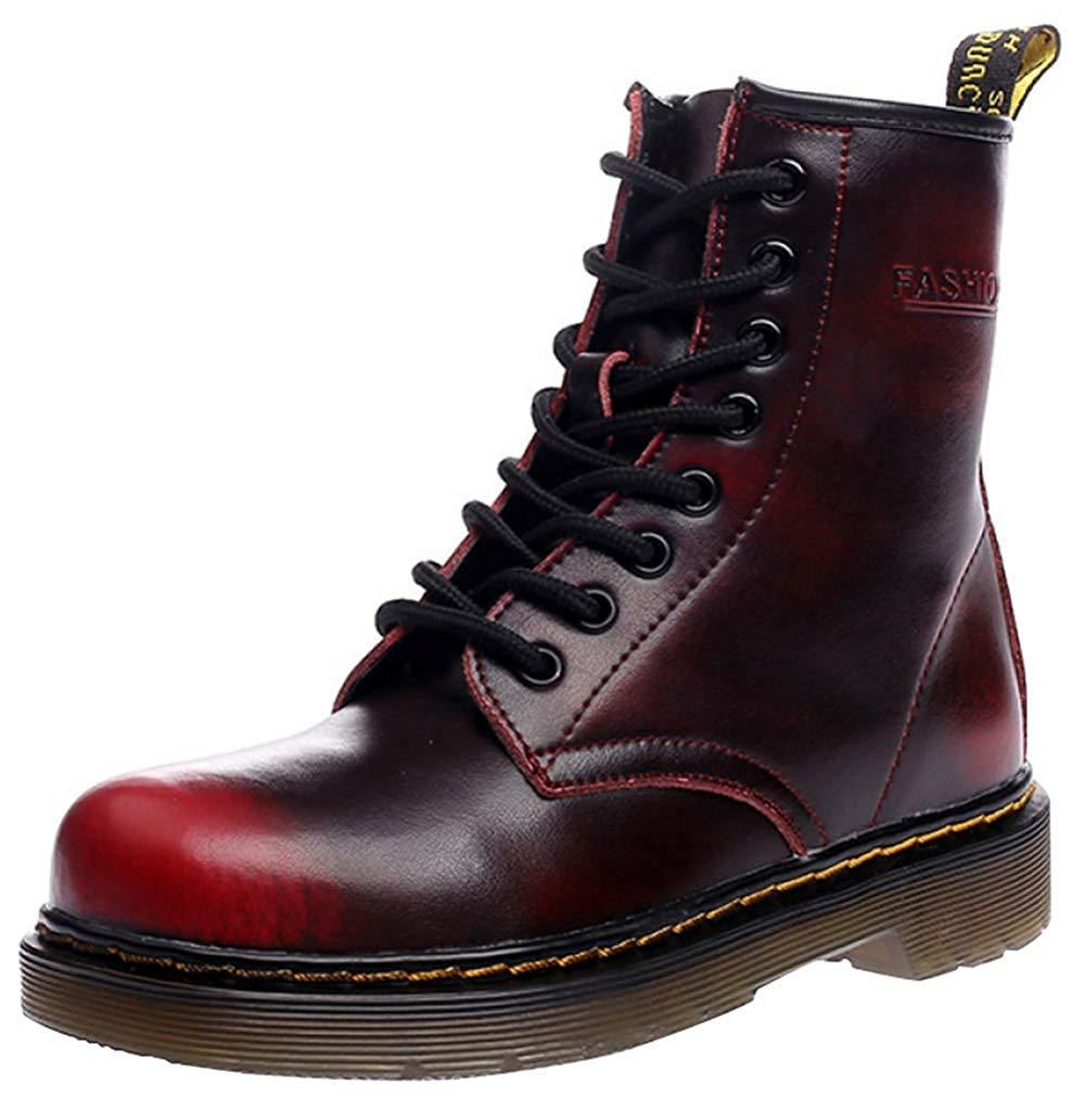 Fuxitoggo Männer Und Frauen Knöchel Martin Stiefel Warm Plus Baumwolle Schneeschuhe Liebhaber Schuhe (Farbe   4, Größe   42EU)