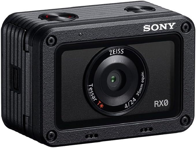 Sony DSC-RX0 Appareil Photo Expert Large capteur 1'' CMOS Exmor RS, 15,3Mpix, Optique ZEISS lumineuse, étanche jusqu'à 10m
