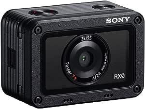 Sony DSC-RX0 - Cámara Ultra compacta de 15.3 MP (Pantalla LCD 3.8 cm, resolucion HD, con Sensor CMOS Exmor RS, Lente ZEISS Tessar T* de 24 mm, Bluetooth) Negro
