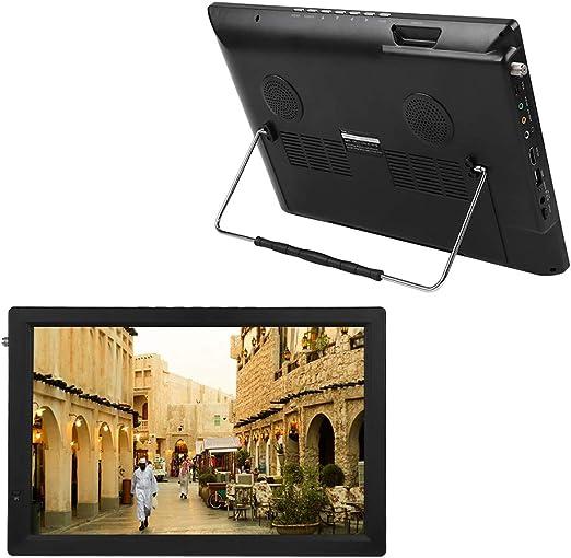 Naroote Televisión Digital,Televisión portátil 14in 1080P Car Digital TV ATV Tuner de Alta sensibilidad TV portátil para ATSC-T/T2: Amazon.es: Hogar