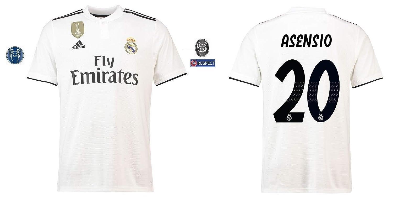 Real Madrid Trikot Kinder 2018-2019 Home UCL - Asensio 20