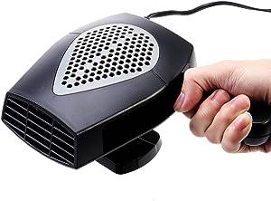 VOSAREA Portable 12V Car Heater Heating Fan Demister with Cigarette Lighter Plug