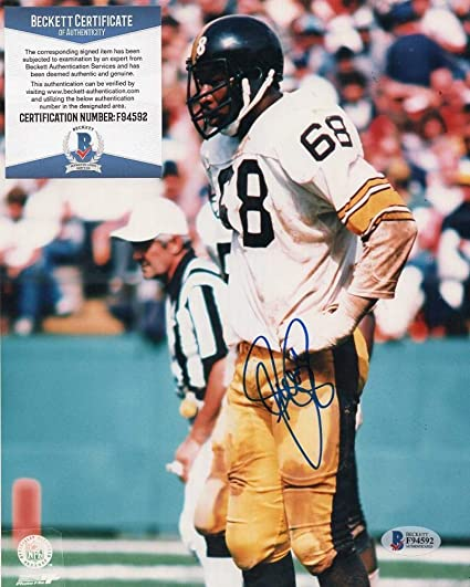 L.C. Greenwood Autographed Photo - Deceased 8x10 Beckett F945 - Beckett  Authentication - Autographed NFL Photos b1bfcb2a9